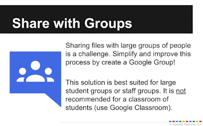 share with google groups