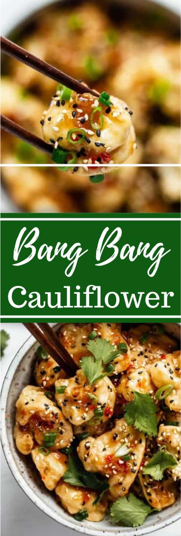 BANG BANG CAULIFLOWER #healthy