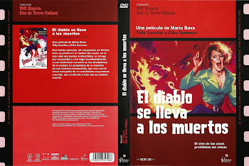 Carátula dvd: El diablo se lleva los muertos (1973) (Lisa e il diavolo)