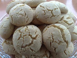 Sesame Paste (Tahini) & Walnut Cookies (Tahinli&Cevizli Kurabiye)