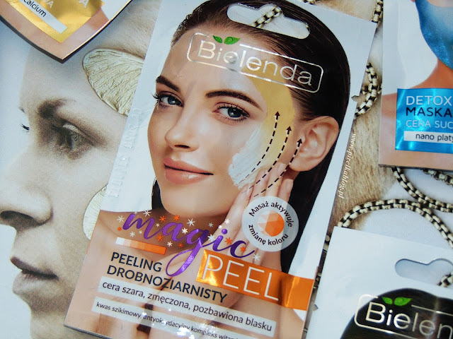 Bielenda, Magic Peel - Peeling drobnoziarnisty do twarzy