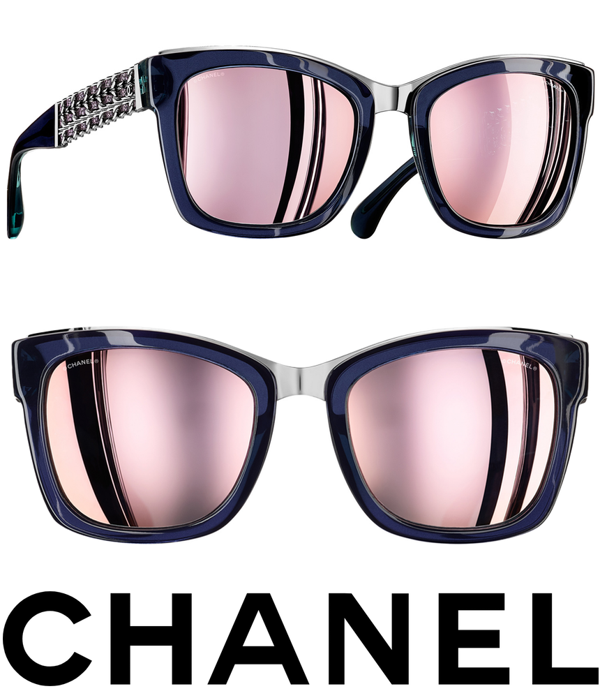 Chanel Winter Square 2017 Sunglasses