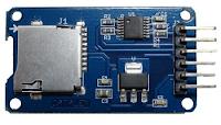 microSD tampil atas