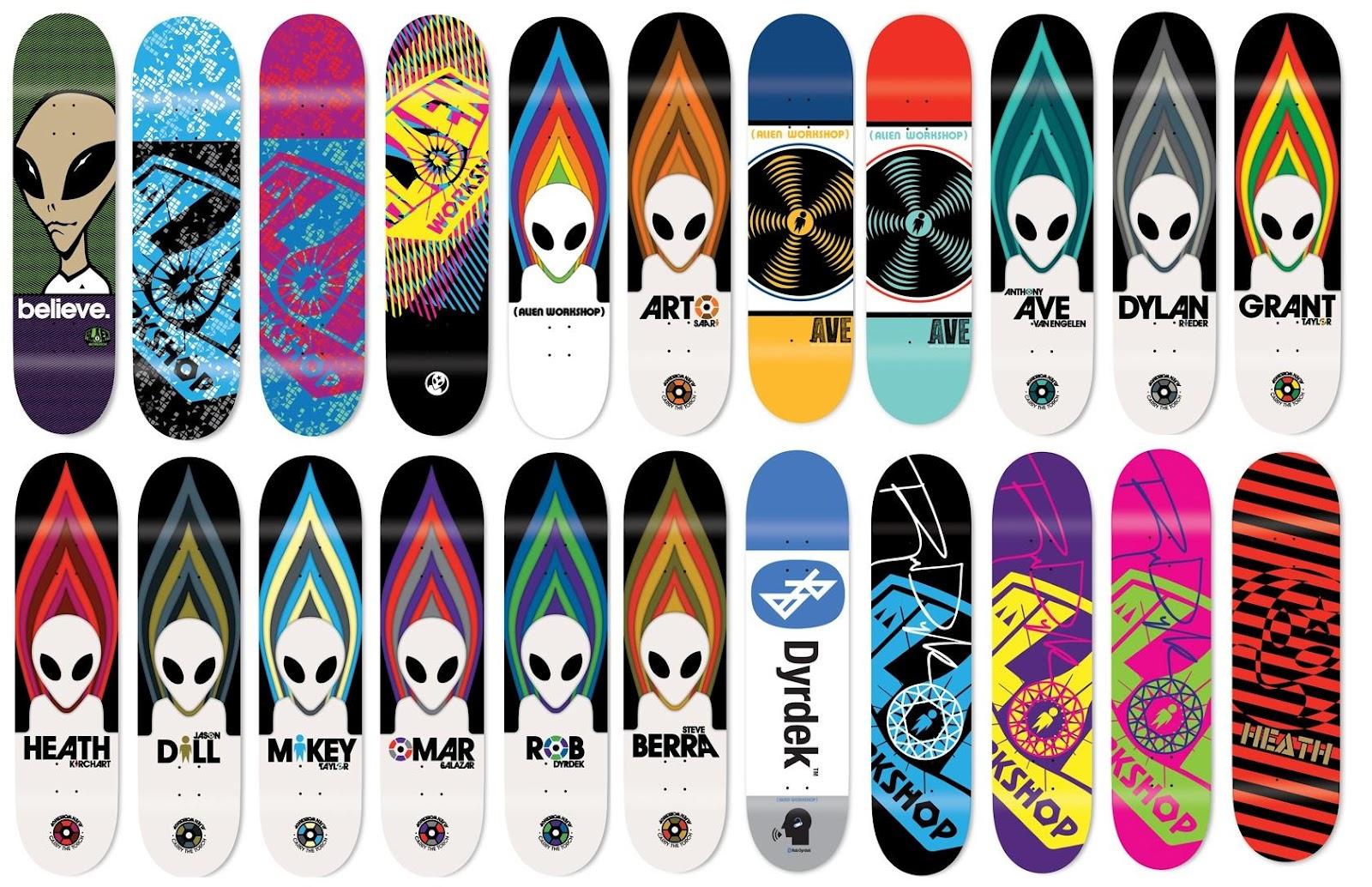 Girl Skateboards Wallpaper Skate Ware 4 20 Alien Workshop