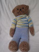 patron gratis oso amigurumi de punto   free knit amigurumi pattern bear