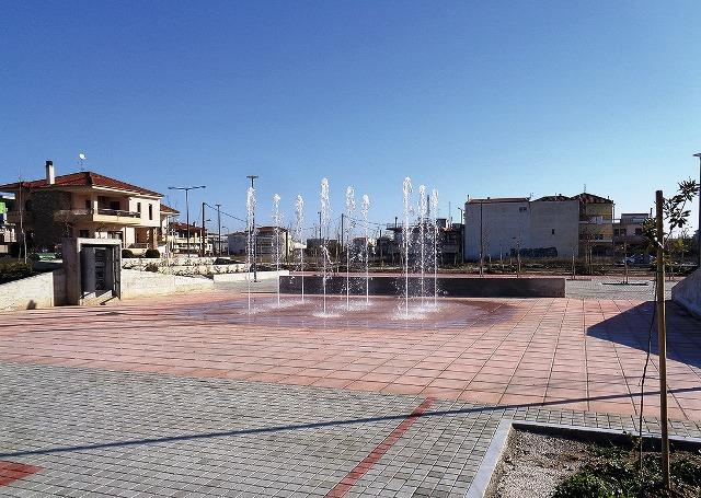 Εγκαινιάζεται η νέα πλατεία στην συνοικία Αγίου Γεωργίου στη Λάρισα