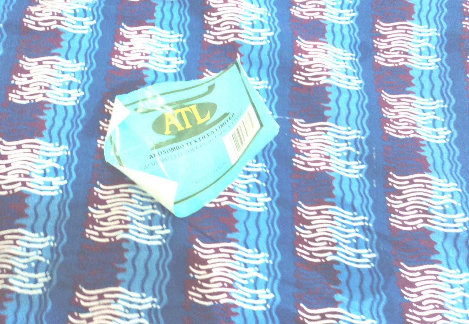 That's Sew Naija!: How To Remove Ankara Fabric Labels