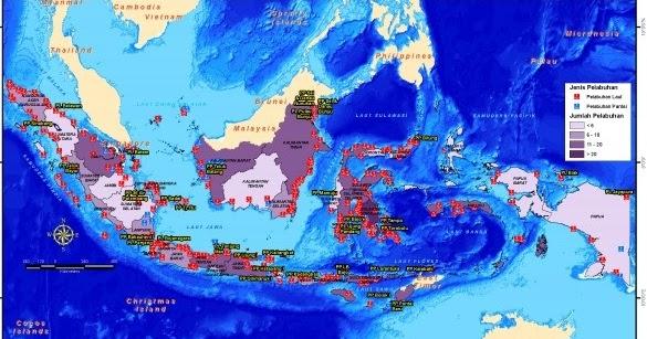 Pelajaran Sd Dan Ilmu Pengetahuan 144 Nama Pelabuhan Laut Di Provinsi Indonesia
