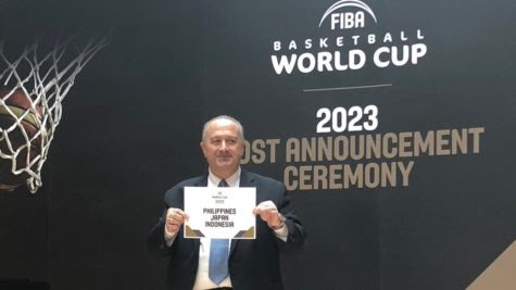 Philippines, Japan and Indonesia to host the 2023 FIBA Basketball World Cup