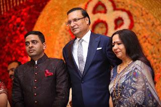 India TV CEO Rajat Sharma graced the Marriage Ceremony of Ishani Sharma wedding