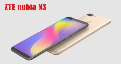 مواصفات و مميزات هاتف  زد تي اي نوبيا ZTE nubia N3 مواصفات موبايل/ جوال نوبيا ZTE nubia N3