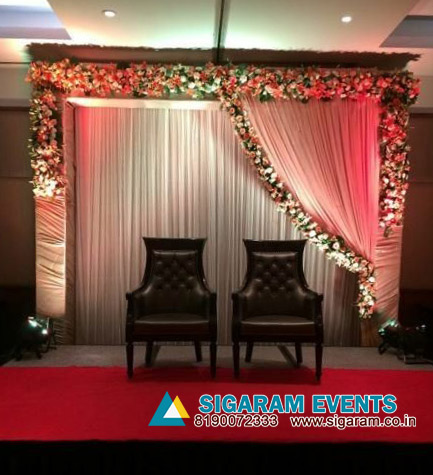 Reception stage decoration ideas pondicherry chennai cuddalore and are you looking for more stunning idea for wedding decoration here we have a huge collection of wedding and reception decoration models blow junglespirit Images
