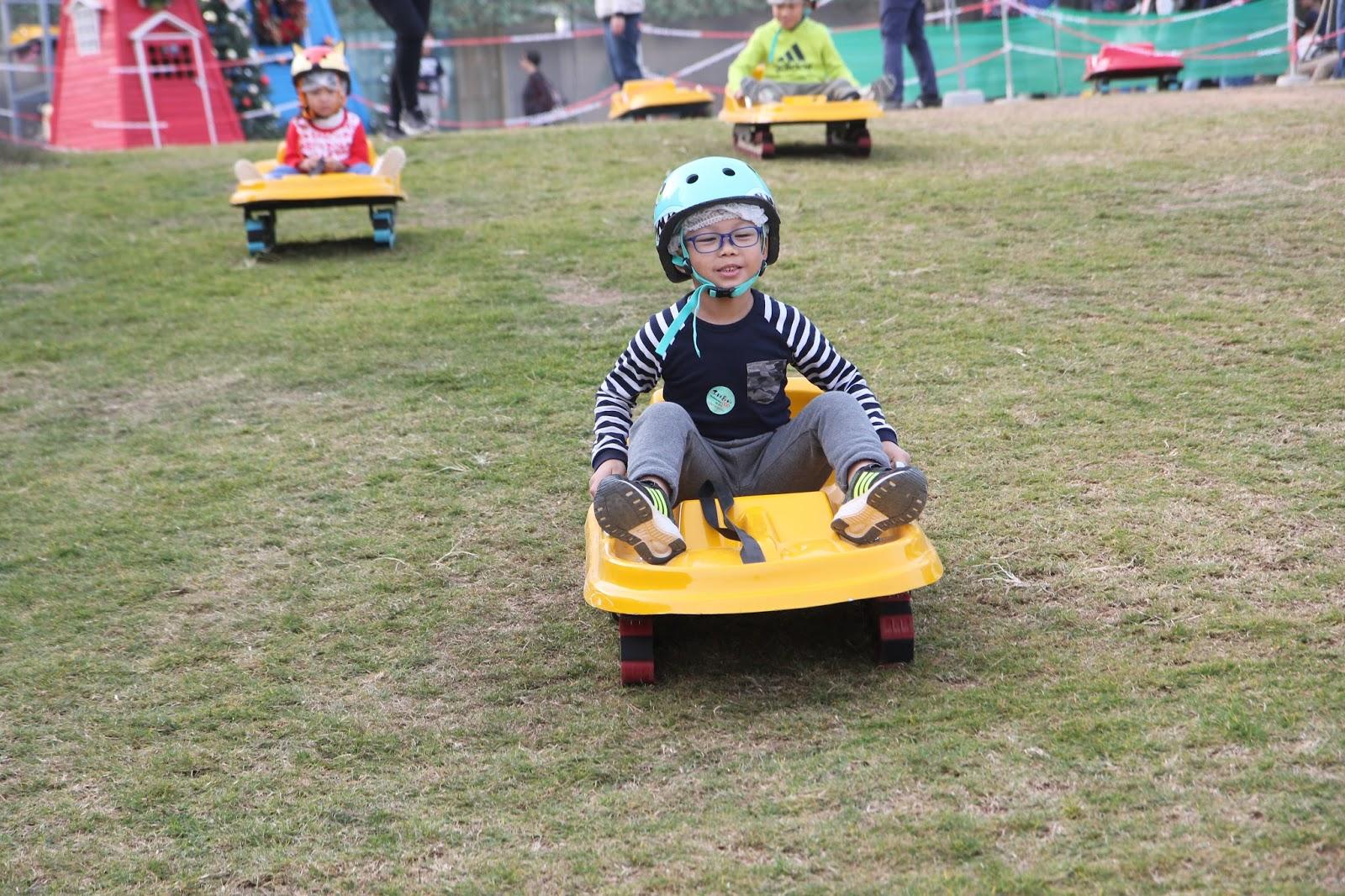 VCY Blog: 滑草 Go! Go! Go! @ 禾田喜山種植園