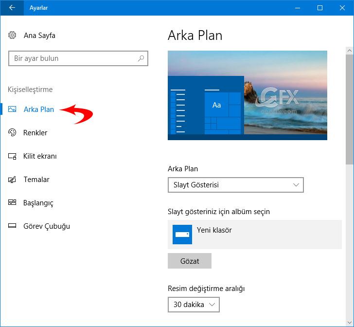 Windows 10'da Temalar Nasıl Kaydedilir? www.ceofix.com