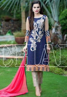 Range Vol-3 Luxury Lawn Embroidered Collection