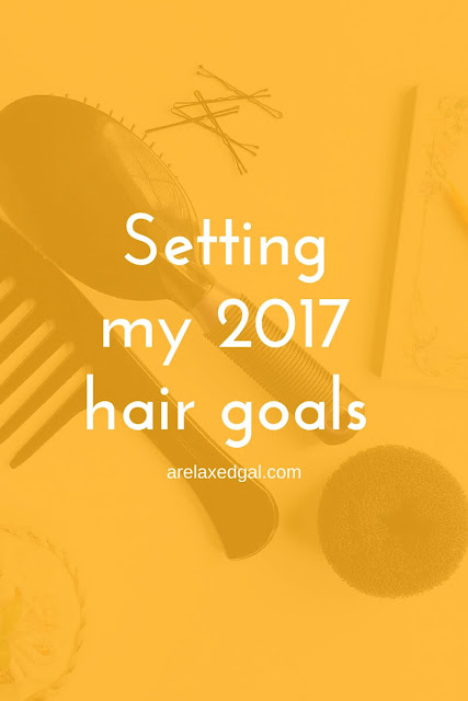 I'm sharing my three hair goals for 2017. | arelaxedgal.com