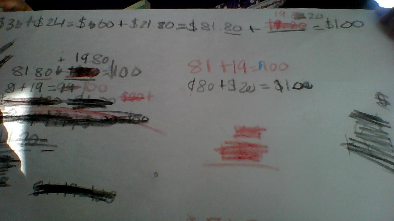 Sheena @ Pt England School: Group maths workout