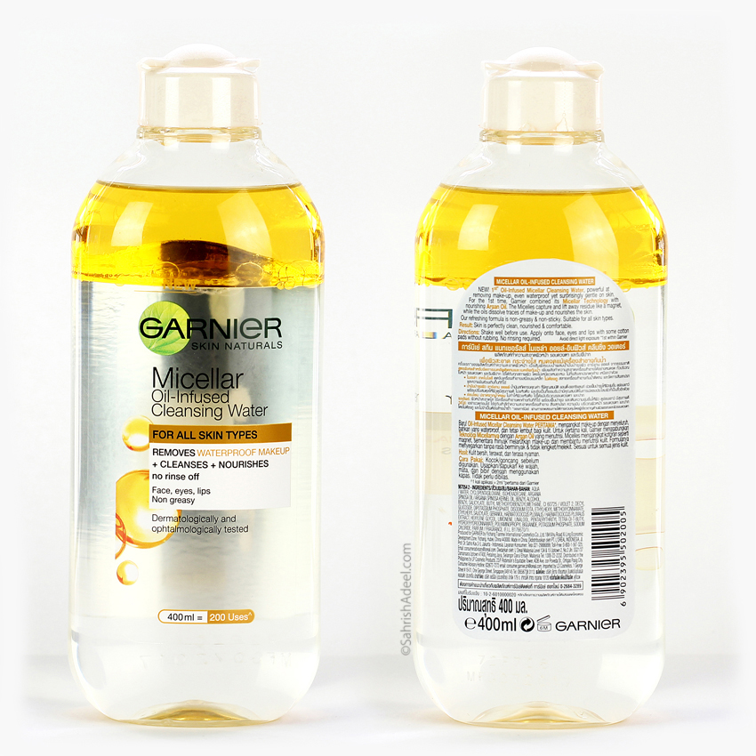 Micellar Oil-Infused Cleansing Water