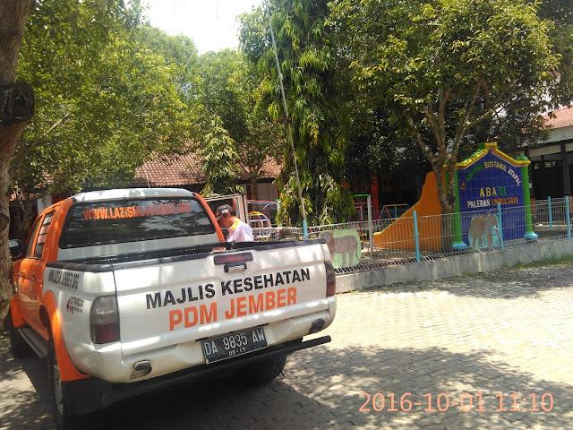 Roadshow Team lazismu jember ke PCM se-Jember7