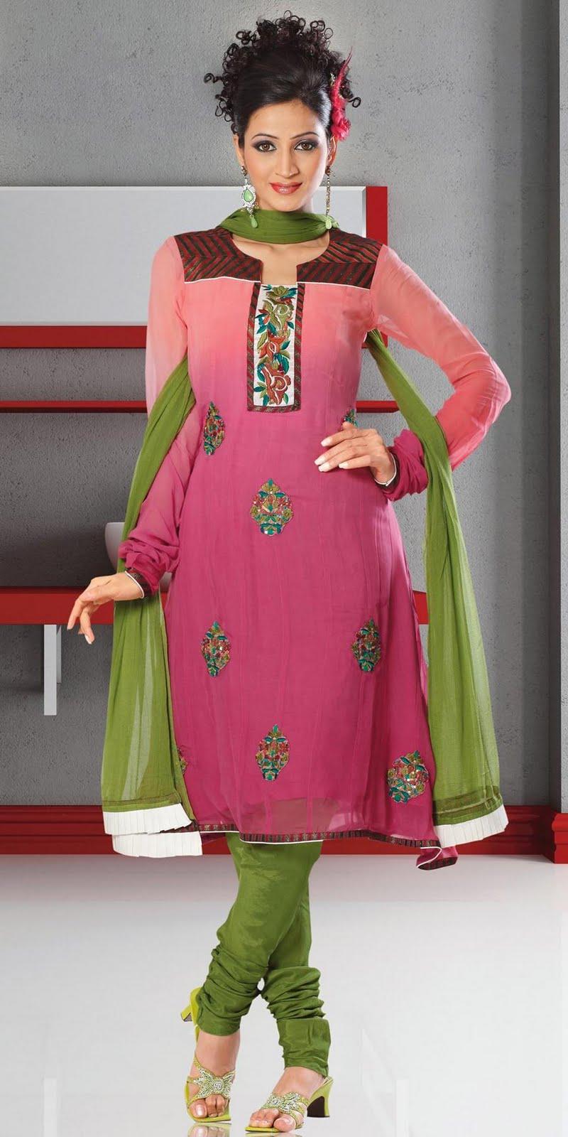 Diva Beauty Box: Diwali Stylish Dresses For Girls 2011