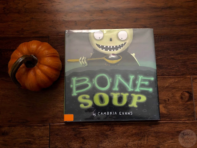 Children's Book Review of Bone Soup by Cambria Evans