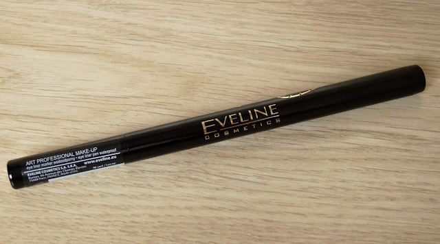 Eyeliner w pisaku Eveline Professional Art Make-up ultra lasting formula 24h