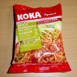 KOKA Signature シンガポール風焼きそば SINGAPORE FRIED NOODLES