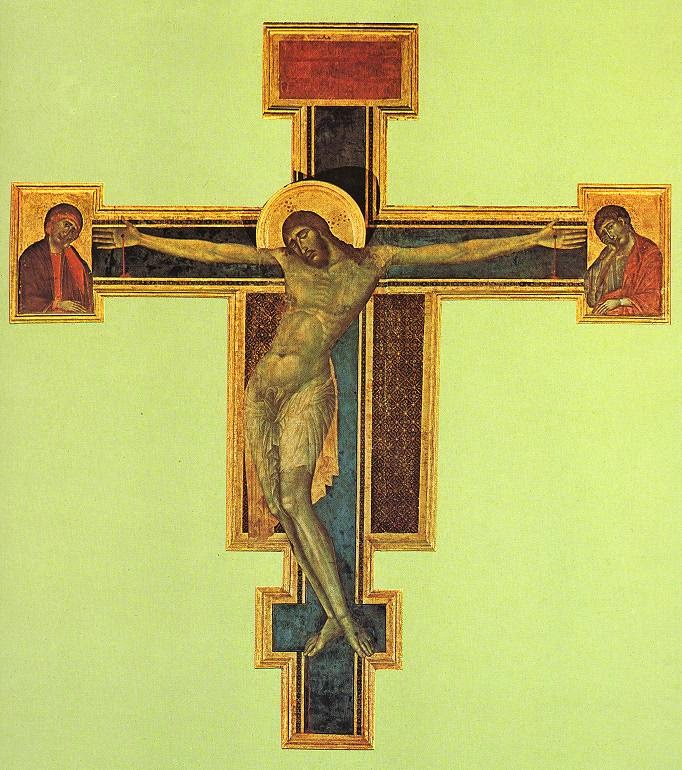 Crucifixo - Giovanni Cimabue e suas pinturas ~ O criador de mosaicos