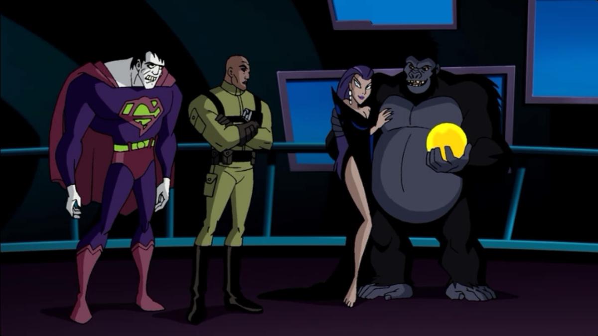 Tala justice league unlimited - photo#53