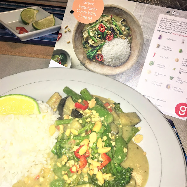 Gousto Thai Green Vegetable Curry with Lime