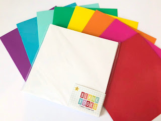 Blank books from the Target Dollar Spot