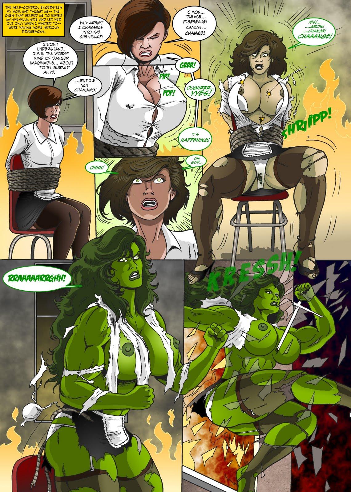 manic she hulk