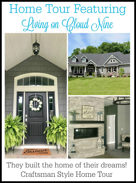 This beautiful new home is modern Craftsman style with touches of glam. Decorated in shades of gray with a stone fireplace, beautiful light fixtures, and more...you'll love it!