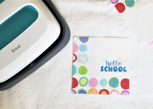 How to Make Iron-On Vinyl Napkins