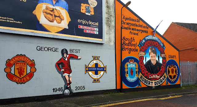 George best, mural, belfast