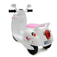 junior tr17588 kitty scooter motor mainan aki