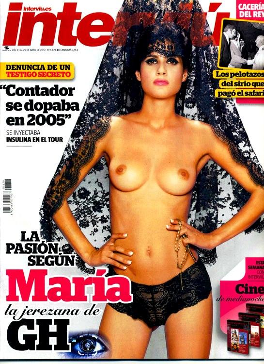 Interviú Desnuda A María De Gran Hermano 121 La Pasión