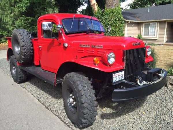 1949 Dodge Power Wagon 4x4 Truck