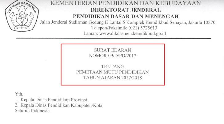Pengisian Aplikasi PMP TA 2017/2018 Mulai 15 Juli 2017 S/D 30 September 2017 Sesuai Surat Edaran