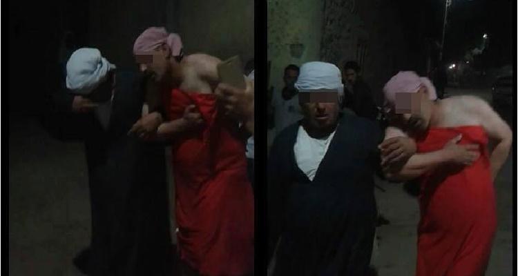 عائلة أبو شناف تجبر زوج ابنتهم على إرتداء قميص نوم في الشارع و السبب أغرب من الخيال