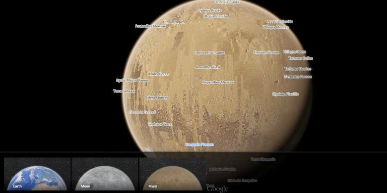 bulan-mars-via-google-maps