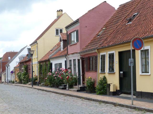 Schweden Urlaub Anreise Dänemark Maribu Camping Häuser