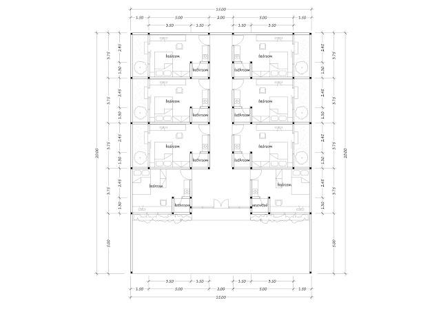 Boarding house plan 22