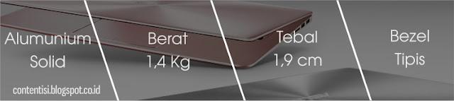 ASUS ZenBook UX410UQ - Desain 01