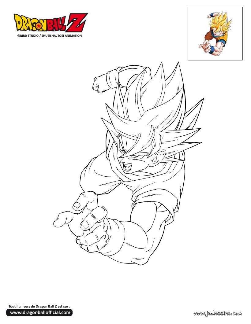 Disegni Da Stampare E Colorare Di Dragon Ball