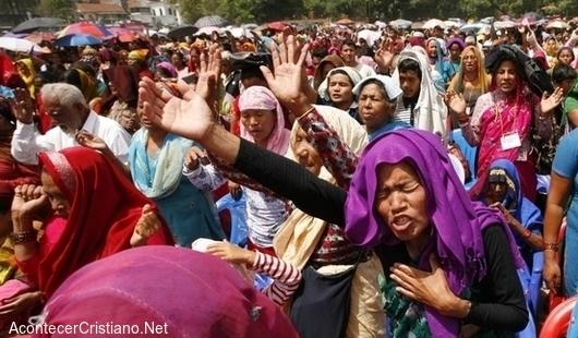 Crecimiento de cristianos en Nepal