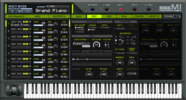 Vst plugins korg m1 le v1. 1 win & osx full free download youtube.