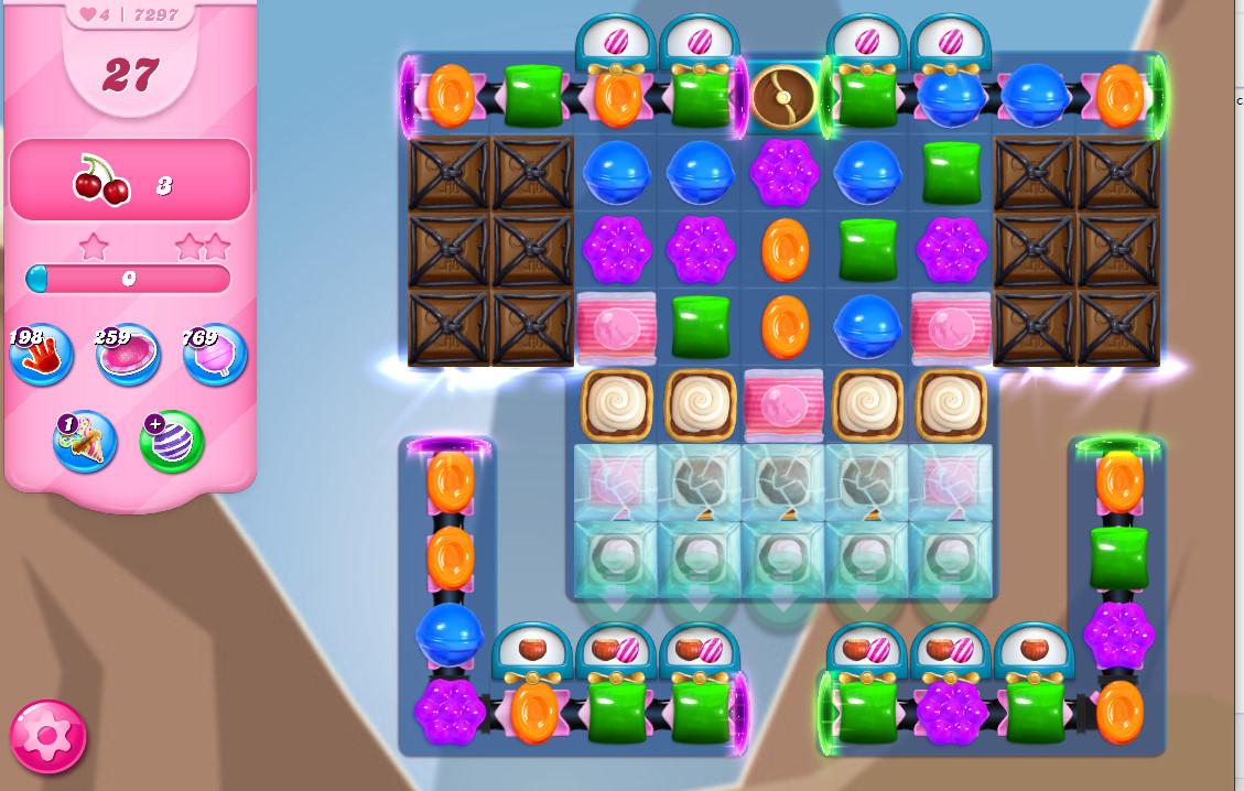Candy Crush Saga level 7297