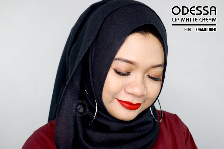 Odessa Lip Matte Cream 904 EnamouRED
