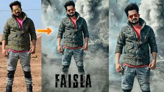 Picsart Manipulation,Picsart Tutorial, Background Change, Movie Poster |Picsart Editing